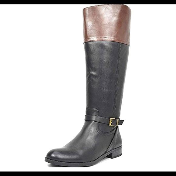 0474 Womens Knee High Winter Wide Calf